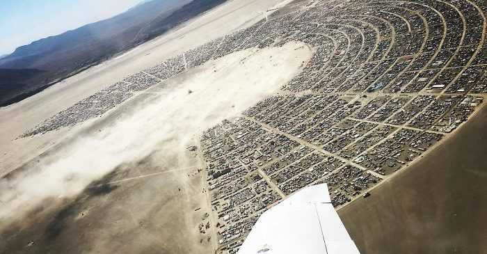 Burning Man Deconstruction